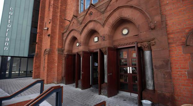 The Irish language culture centre Culturlann, which sits on the Falls Road in west Belfast