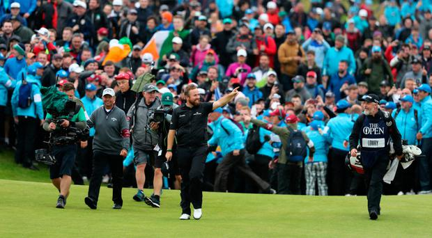 People unite when they have something to cheer, like Shane Lowry winning The Open last Sunday