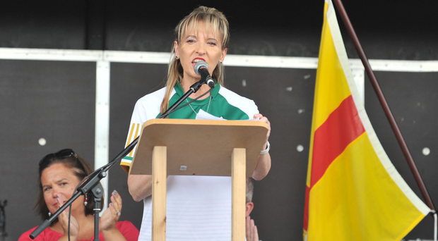 Sinn Fein's Martina Anderson's speech at the annual hunger strike commemoration in Strabane at the weekend came in for criticism from the family of one hunger striker