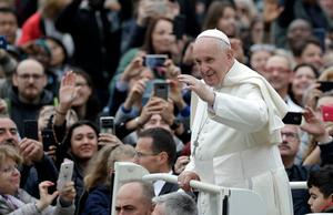 Thought provoking: Pope Francis made global headlines with his conciliatory remarks on same-sex relationships