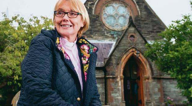 History maker: The Rev Pat Storey was appointed the first female bishop in the British Isles