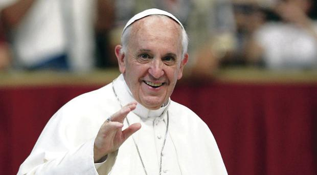 Papal hopes: A visit by Pope Francis would bring a smile to many faces in Northern Ireland