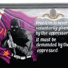 Up in arms: a paramilitary mural in east Belfast