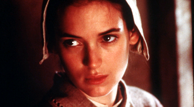 Witch hunt: Winona Ryder in Arthur Miller's The Crucible
