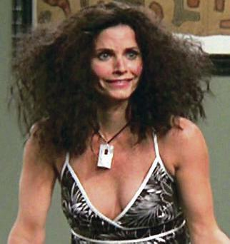Hair trouble: a few days in a tent could make you feel like Monica from Friends in Barbados