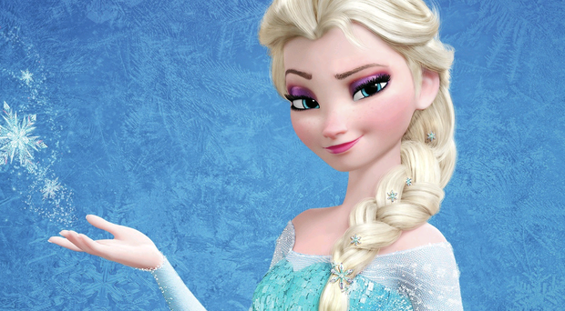 Dress for success: Elsa's outfit is top of most little girls' Santa wishlist