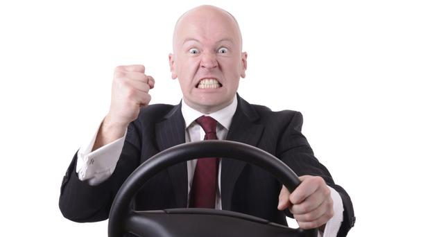 Anger mismanagement: it always seems to be men in flashy cars who lose it behind the wheel