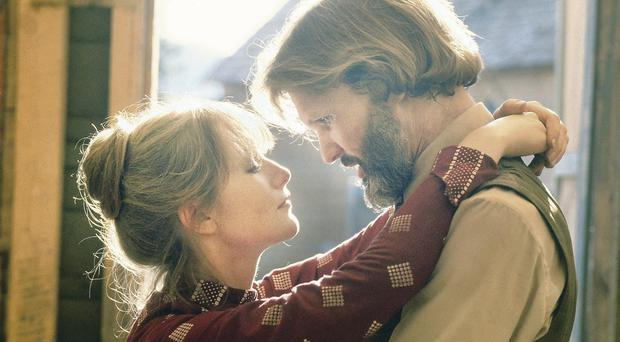 Movie magic: Kris Kristofferson and Isabelle Huppert in a scene from Heaven's Gate