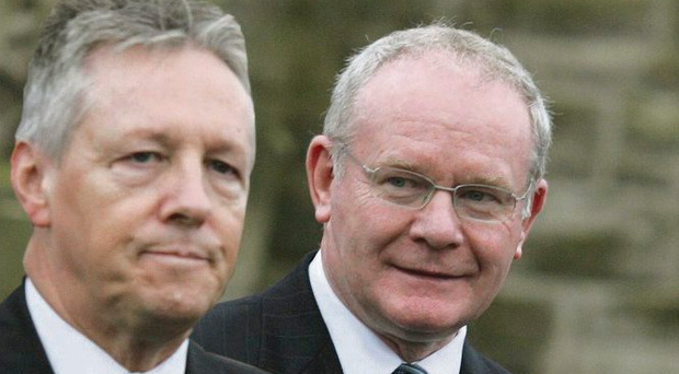 The First and Deputy First Minister claim their relationship is
