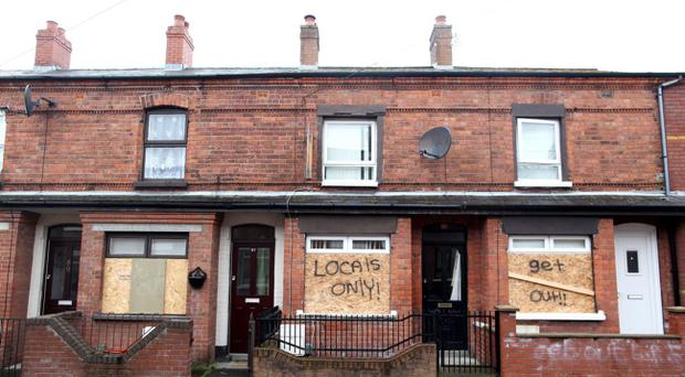 Racial attacks have been on the increase in Belfast