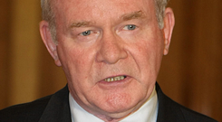 Questions have been asked over Martin McGuinness's role in the McKay affair
