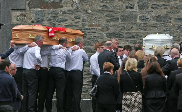 The family's funeral
