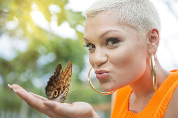 ST. AUSTELL, UNITED KINGDOM - JULY 14: In this handout photo provided by The Eden Project, Jessie J poses ahead of her performance at The Eden Sessions on July 14, 2013 in St. Austell, England. (Photo by James Ram/The Eden Project via Getty Images)