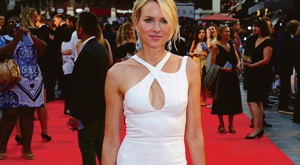 Royal whitewash: Naomi Watts utters some dire lines as Diana