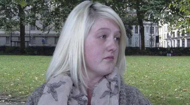 Sarah Ewart had to travel to London for an abortion after she was told her unborn child had no chance of survival