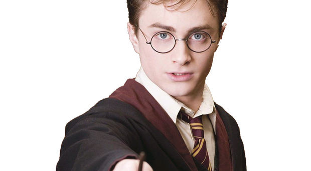 Shining light: Harry Potter has added coolness to glasses