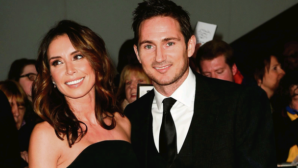 Rare respect: local star Christine Bleakley with Frank Lampard