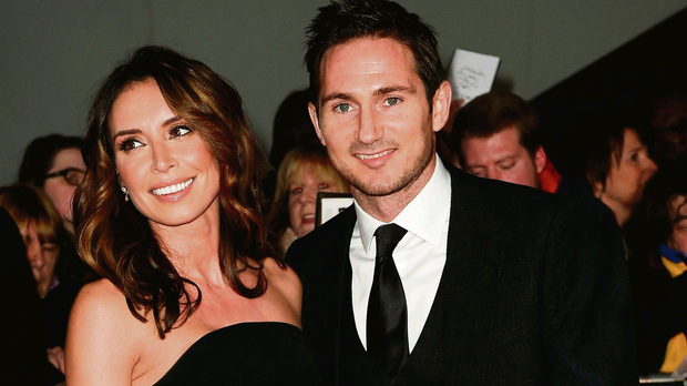 Local star Christine Bleakley with Frank Lampard