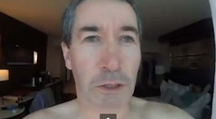 Internet hit: Joseph Griffin and his GoPro