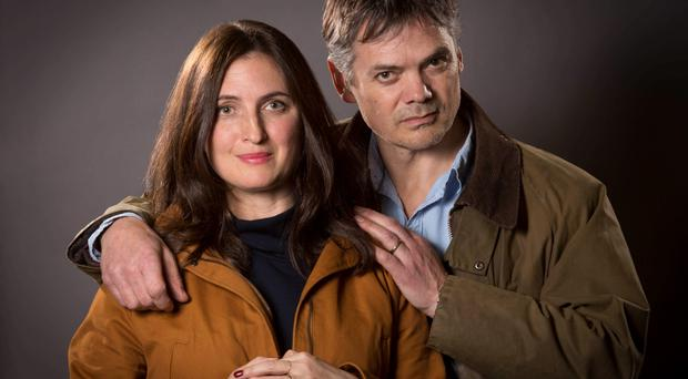 Harrowing tale: Rob and Helen from The Archers