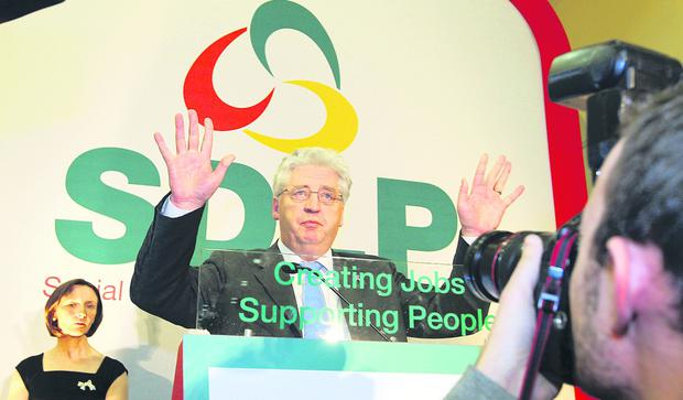 Alasdair McDonnell has brought stability to the SDLP and could hand over his Stormont seat to Claire Hanna