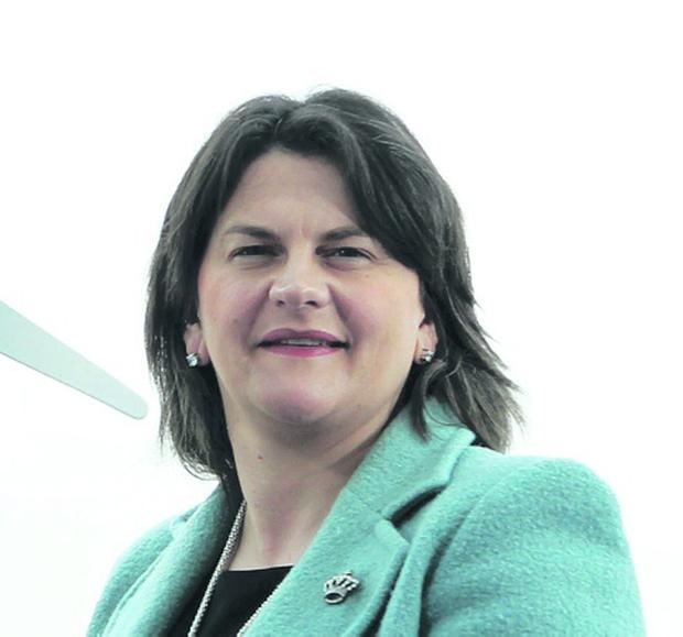 Overseas bills: Arlene Foster