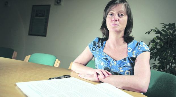 Employment test: Mary McArdle's conviction would have been revealed under vetting procedures proposed by Jim Allister
