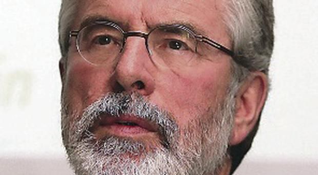 'Gerry Adams isn't the biggest chancer in politics when it comes to telling the truth'