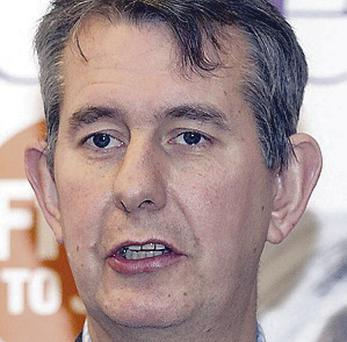 The Department of Health must pick up the bill for a High Court challenge over issuing abortion guidelines, High Court hears. Pictured Health Minister Edwin Poots