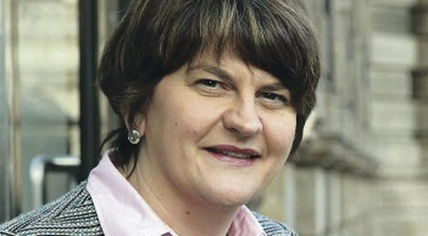 Arlene Foster, the Enterprise Minister