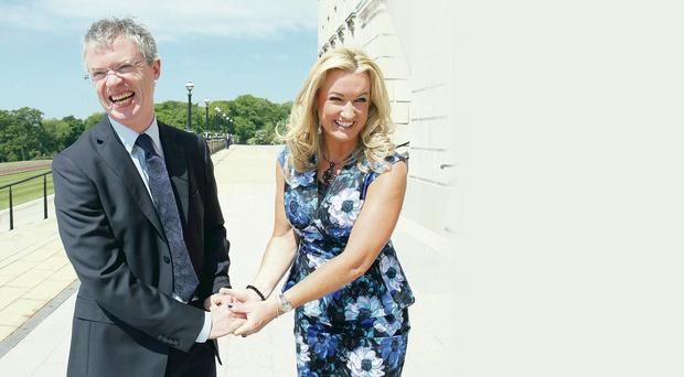 Support: Joe Brolly and Jo-Anne Dobson