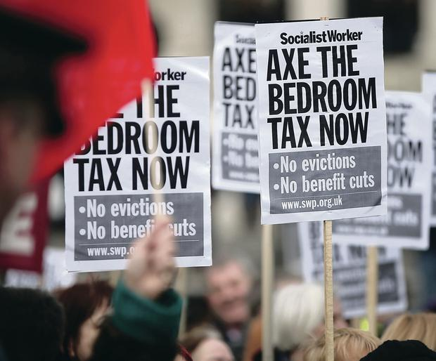 Although we got a concession on the bedroom tax, it's still a concession we have to pay £43.7m annually out of our own pockets for