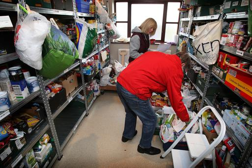 The use of foodbanks has grown under austerity in the UK as welfare benefits have been slashed to help balance the books