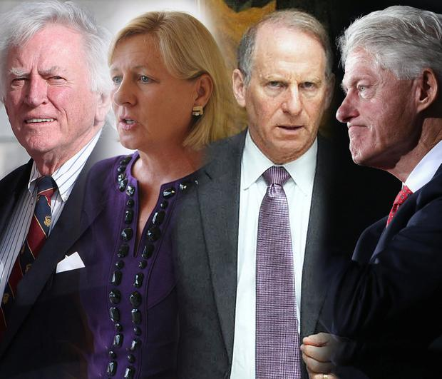Gary Hart, Nancy Soderberg, Richard Haass and Bill Clinton have all made huge efforts to bring peace to Northern Ireland