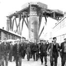 Labour tradition goes back to Belfast's industrial heyday to places like the shipyard at Harland & Wolff