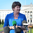 Arlene Foster is expected to be appointed DUP leader this evening