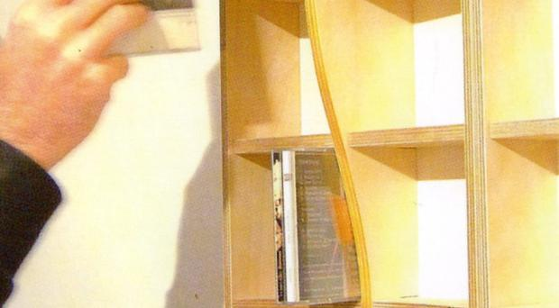 Neat and tidy: CD rack