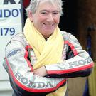 Motor-cycle racing legend Joey Dunlop