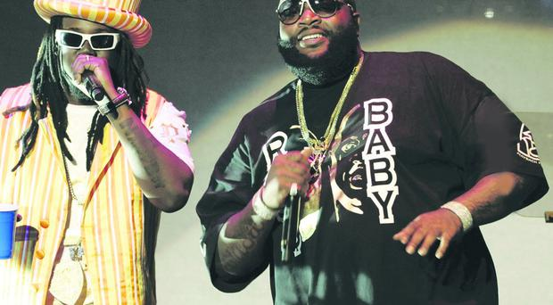 Dropped by Reebok: Rick Ross (right)