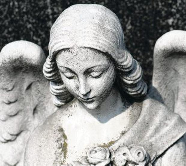 Angel eyes: Watching over us?