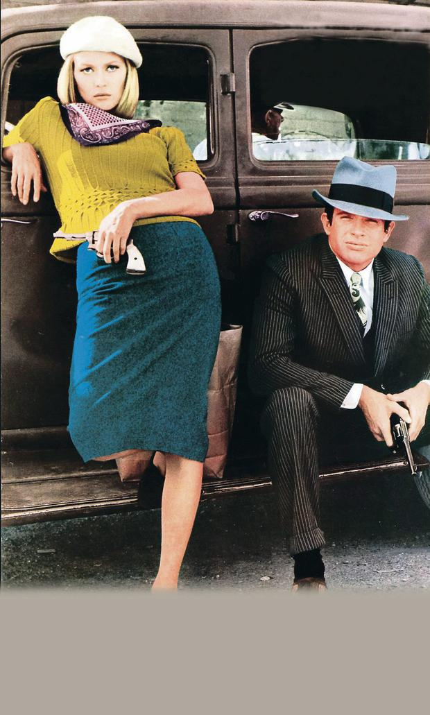 Bonnie and Clyde, played by Faye Dunaway and Warren Beatty, had a novel approach to banking