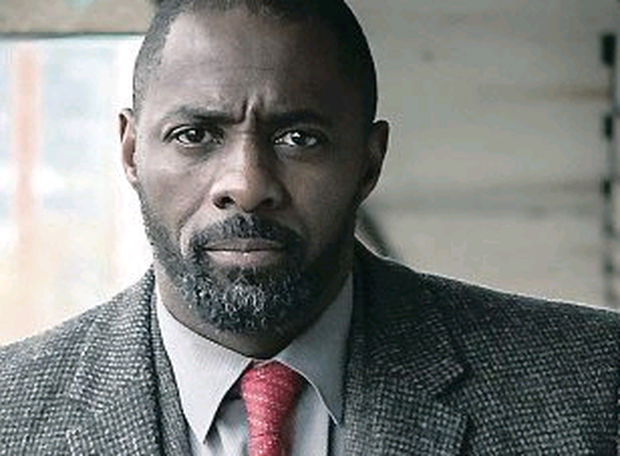Real turn-off: Idris Elba as DCI John Luther