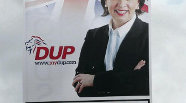Look-a-like: Diane Dodds resembled Mary McAleese