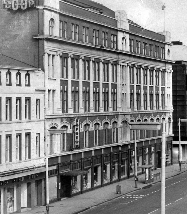 Co-operative HQ at the Orpheus building in York Street, Belfast