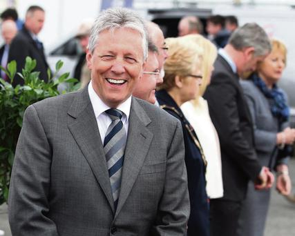 US visitor: Peter Robinson used to own a house in Florida