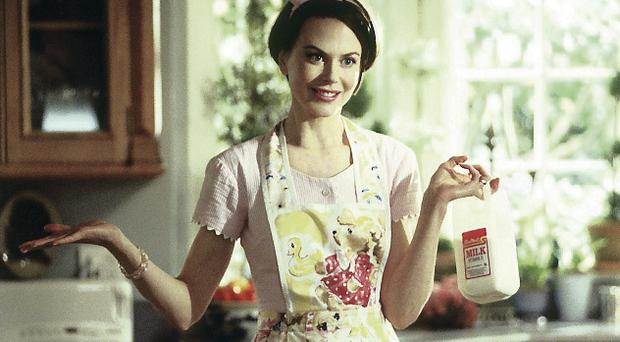 Looks familiar: Nicole Kidman in the movie Stepford Wives