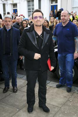 Battling on: Bono laments lack of care in the world