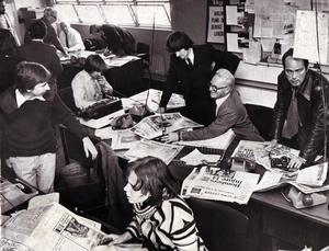 Business as usual: Telegraph journalists day after bombing