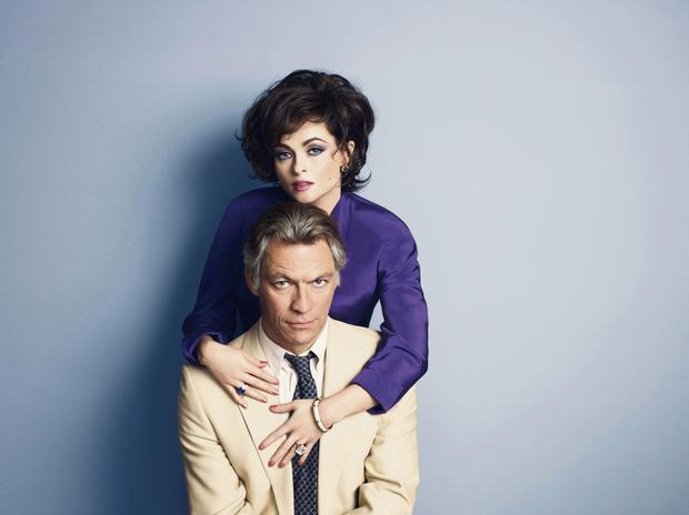 Dramatic duo: Helena Bonham Carter and Dominic West as Elizabeth Taylor and Richard Burton