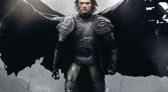 Hollywood star: Luke Evans in Dracula Untold